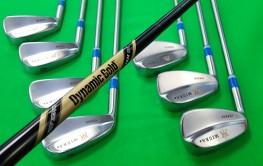 LH Tournament Blades & Black Onyx TT Wedge Shaft