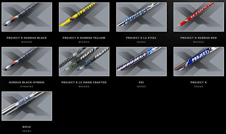 px-shafts